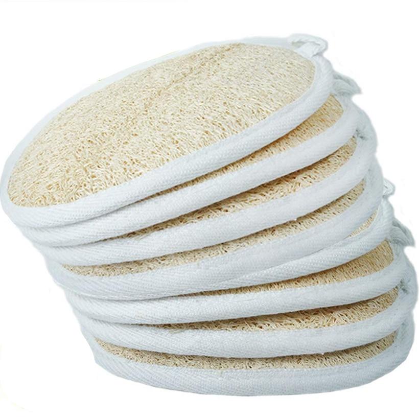 1PCs Loofah Sponge, Exfoliating Loofah Sponge Pads Natural Loofah Back Scrubber for Men and Women
