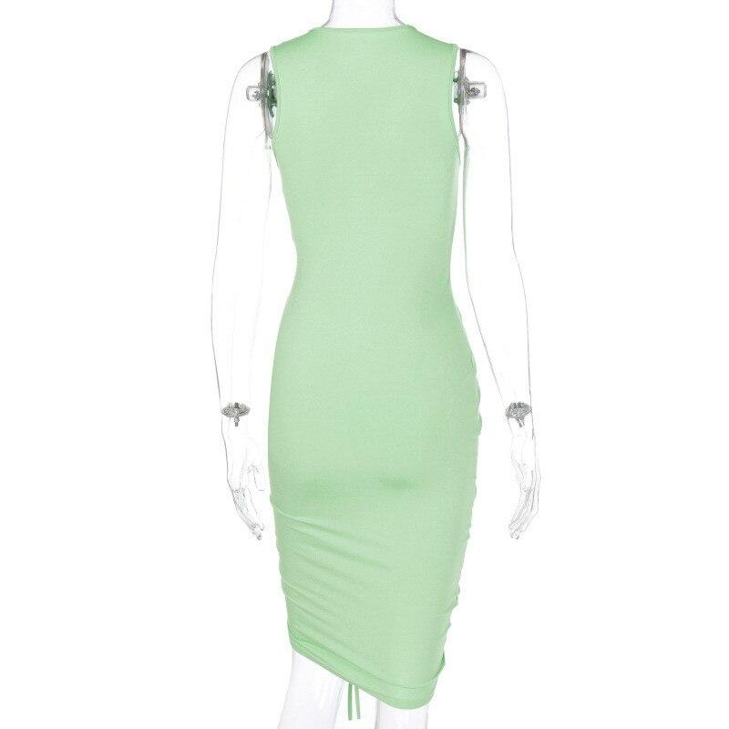 sleeveless mini short dress15