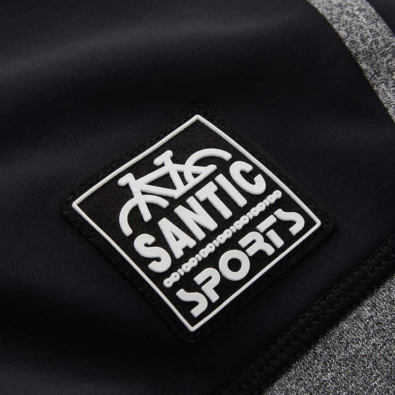 Santic רכיבת נשים מכנסיים קצרים מהיר יבש נוח 4D מרופד עמיד הלם MTB כביש אופני הדוק מכנסיים בריכת ספורט רכיבה על אופניים בגדים