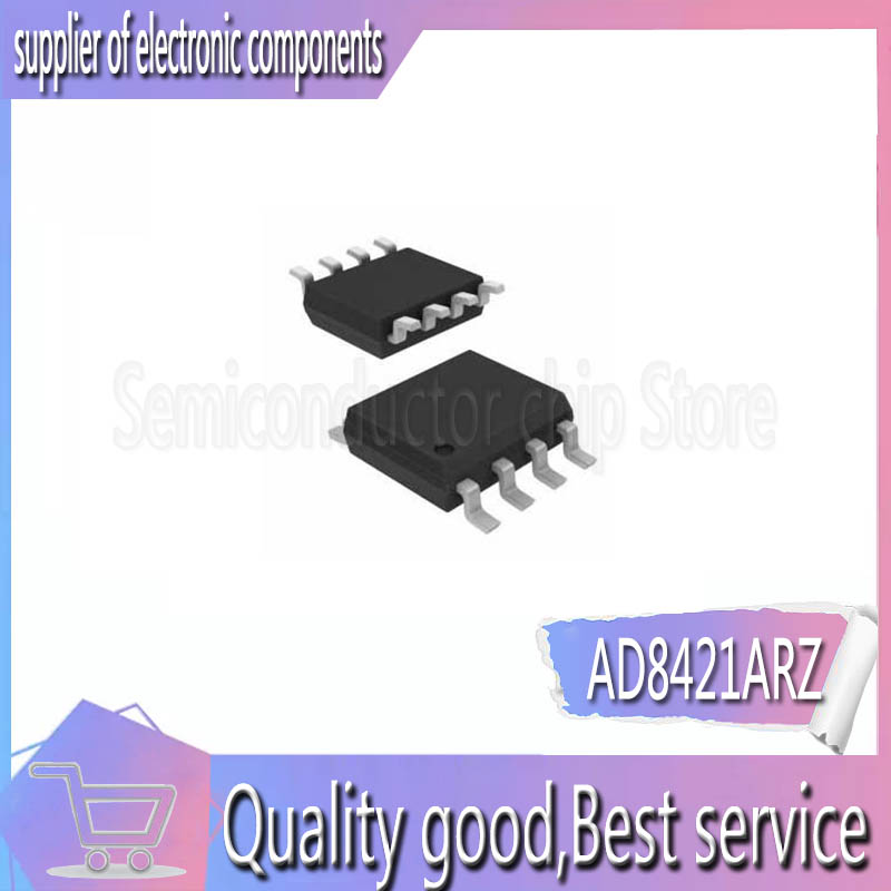 2PCS <font><b>AD8421</b></font> AD8421ARZ AD8421AR SOP8 Instrumentation Amplifier New image