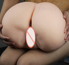 Big ass sex doll masturbation vagina silicone pussy anal male sex toys adult sex supplies gifts