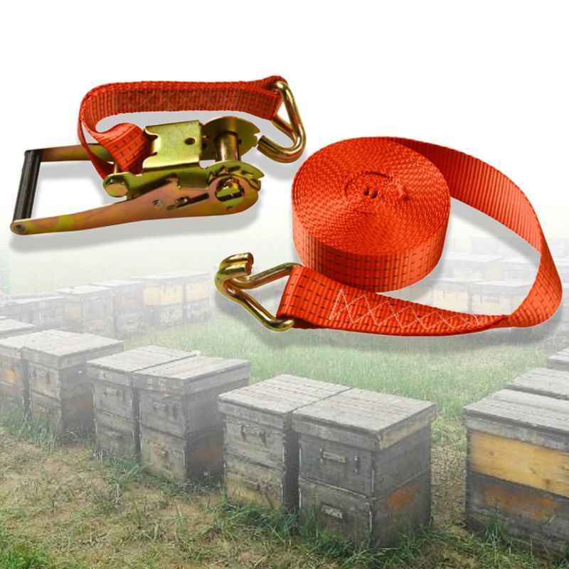 Durable Beehive Bündel Sicherheit Hive Befestigungs Strap Reifen Feste Bindling Gürtel Transfer Schloss Lkw Seil Krawatte Bienenzucht Werkzeug