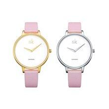 2020 luksusowa marka moda Casual Ladies Watch skórzany pasek wodoodporny zegarek damski kwarcowy prosty styl zegarek Relogio Feminino