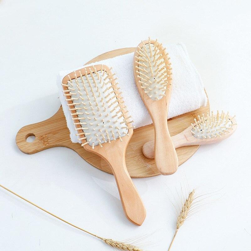 Air Bag Curly Hair Dressing Massage Comb Household Theaceae Anti-static Modeling Comb Da Ban Shu Head Massage Meridian Comb