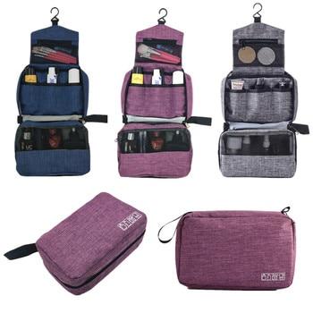 Men Women Hanging Cosmetic Bag Multifunction Travel Organizer Toiletry Wash Make up Storage Pouch Beautician Folding Makeup Bag 6