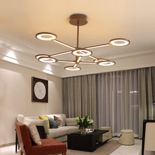 New Brown Ceiling Lamp for living room bedroom Aluminum Modern LED Light cocina accesorio lampara techo plafonnier led