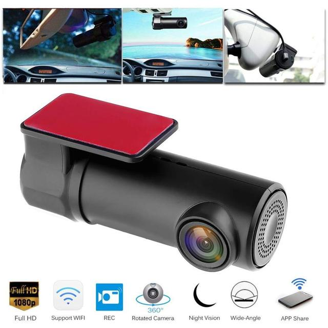 DVR/cámara de salpicadero era cámara de salpicadero Mini WIFI coche DVR Cámara registrador Digital grabadora de Video DashCam de videocámara DVR inalámbrico APP Monit
