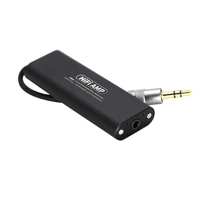 New 3.5mm o HIFI Headphone Amplifier Stereo Earphone AMP for Phone/Car/Speaker