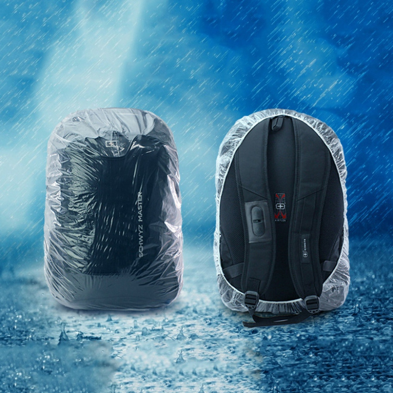 Dustproof Cover For Camping Disposable Backpack Cover Large Bike Bag Mountaineering Outdoor Raincover Waterproof Rain Cover