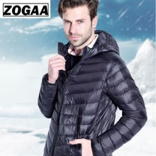 ZOGAA Winter Parkas Men 2019 Fashion Hooded Jacket Male Warm Mens Solid Thick Jackets and Coats Man