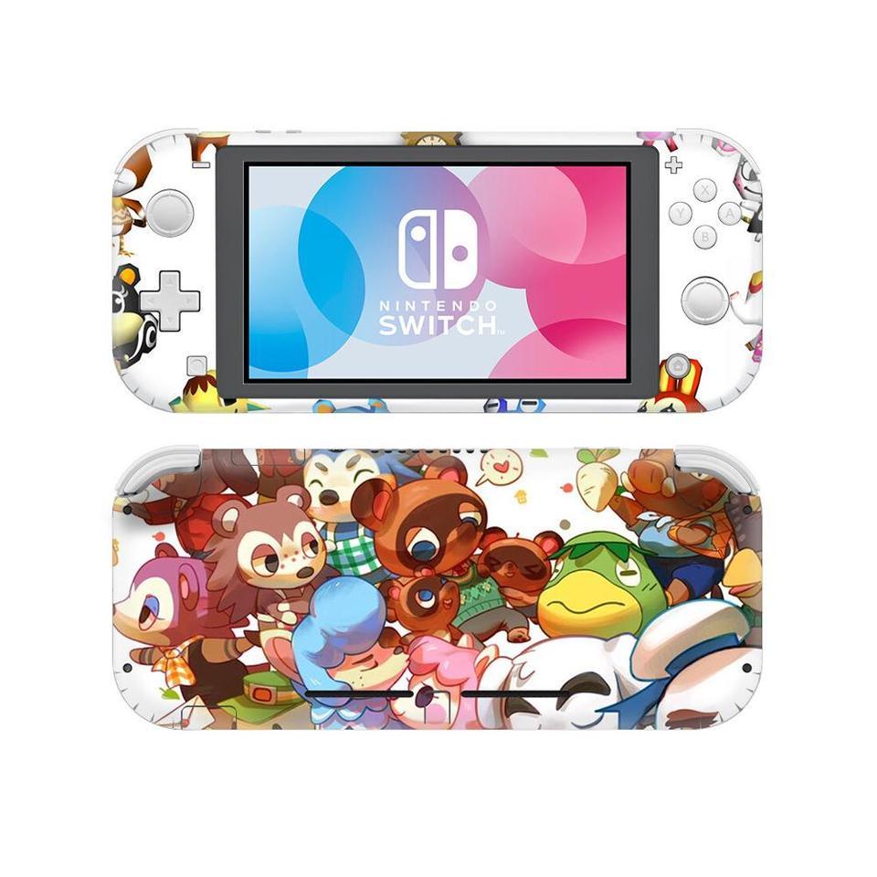 Animal Crossing Nintend Switch Lite Stickers Nintendoswitch Lite Vinyl Skin Sticker Decals Pegatinas For Nintendo Switch Lite Aliexpress