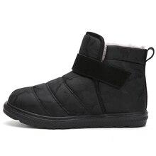 2019  new winter boots women couple snow warm plush platform fashion waterproof shoes