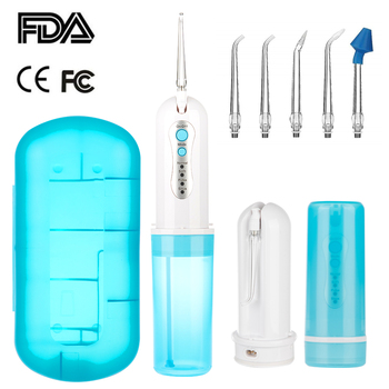 4 Modes Oral Irrigator USB Rechargeable Water Floss Portable Dental Water Flosser Jet Irrigator Dental + Nasal Wash Cleaner Jet 4 5g 60 packets waterpulse nose wash salt for 500ml bottle nasal rinse mix boxed allergic rhinitis nasal wash cleaner irrigator