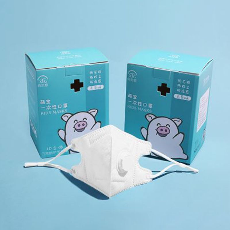10 Pcs/box Children Dust-proof Breathable Mask Baby Boys Girls Disposable Masks 35EF