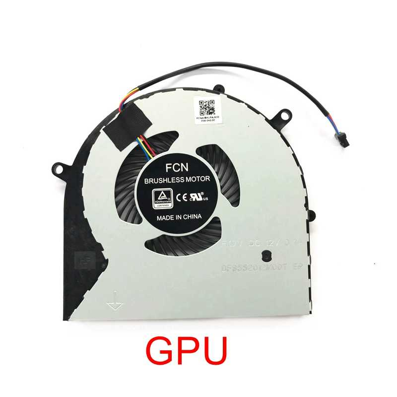 KEMENG New Laptop Replacement CPU+GPU Cooling Fan for ASUS fx63v fx503 fz63vm fx63vm7300 fx63vm GL703vm
