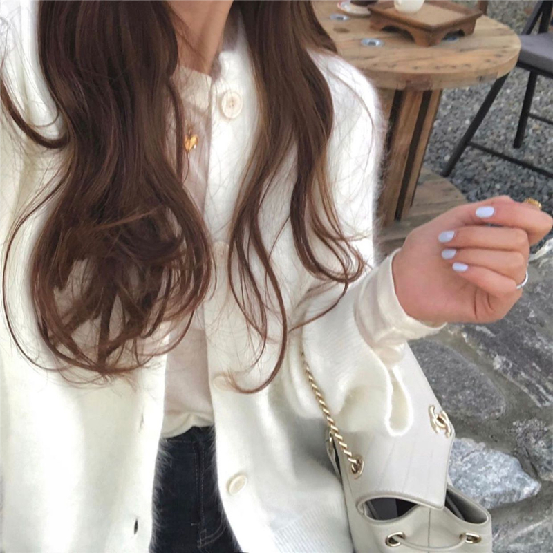 Купить женские норковые кашемировые кардиганы осень зима корейские