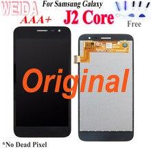 Originale A CRISTALLI LIQUIDI per Samsung Galax J260 J2 Core da 5.0