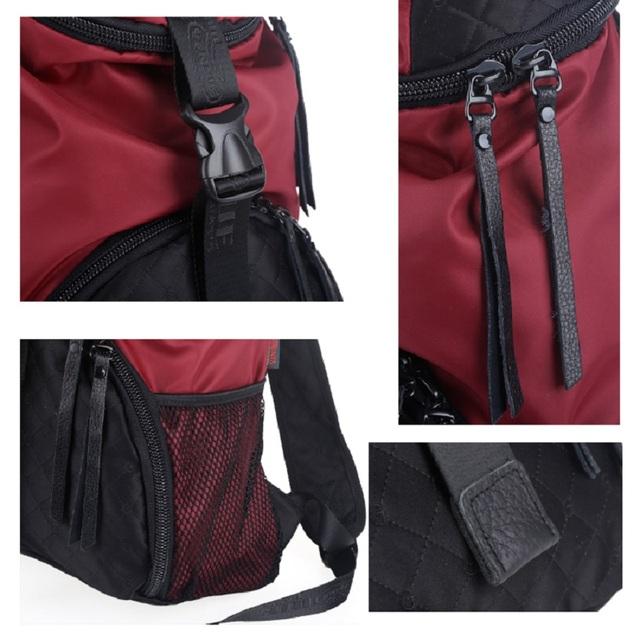 Yinjue bucket backpack nylon waterproof outdoor travel mountaineering women men personality large capacity luggage Hat bag 1008#