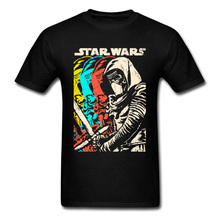 Kylo Ren shadows moda funky's Black Jersey hombres Vintage póster de La Guerra de Las Galaxias camiseta para hombres camisetas 2020 2020
