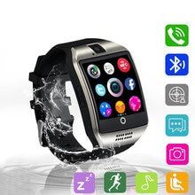 Q18 bluetooth Смарт часы для мужчин с камерой facebook whatsapp