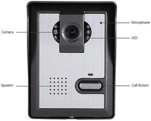 Image 5 - 7 Inch Monitor Video Deurtelefoon Intercom Systeem Deurbel Camera visuele intercom deurbel Video Intercom deurtelefoon voor villa