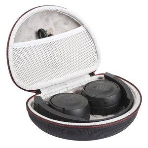 Image 4 - קשה מקרה עבור JBL T450BT/T460BT/T500bt אלחוטי אוזניות תיבת נשיאת מקרה נייד תיבת אחסון כיסוי (רק מקרה)