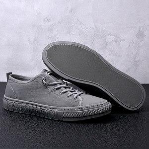 Image 4 - الصيف حذاء قماش الرجال الأزياء أحذية رياضية الساخن بيع مبركن حذاء قماش تنيس Feminino زائد حجم 38 43 الرمادي الكاكي