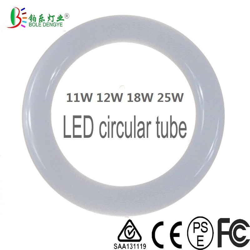 <font><b>LED</b></font> Ring light G10Q Circular Tube Globe Circle Light T9 Round Tube Lamp Light Source Ceiling CFL Replacement12W 11W <font><b>18W</b></font> 25W image