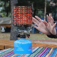 Мини-Обогреватель Палатки для отдыха на природе, походная плита, туристическое снаряжение для кемпинга, теплее палатки, газовые печи для рыбалки, нагревательная плита, крышка