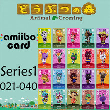 Пересечение животных подлинных данных новые горизонты игры Марио карты для NS переключатель 3DS игра набор NFC карт Ряд1 021-40 матовый материал