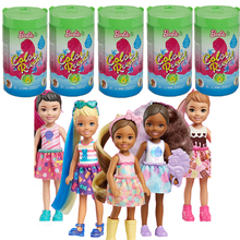 Original Color Reveal Chelsea Barbie Doll Toys for Girls Barbie Clothes for Doll Barbie Accessories Blind Box Birthday Gift