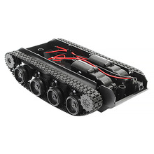 Car-Chassis-Kit Crawler Rc-Tank Arduino-Scm-Vehicle Shock-Absorbing-Tank Rubber 130-Motor
