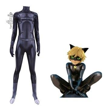 Kids Adult Anime Queen Bee Costume Suit CAT Noir Cosplay Rena Rouge Costumes Ladybug Fox Cosplay Halloween Bodysuits Zentai New