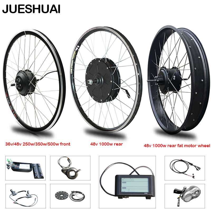 E BIKE 48V 1000W MOTOR WHEEL ELECTRIC BIKE KIT ELECTRIC BICYCLE MOTOR 28/'/'