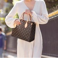 2021 New Famous Brand Designer Shoulder Bag Women Vintage Printing Purse And Handbags For Women Luxury Shopping Handbag Female 1