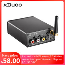 XDUOO XD-50 bluetooth 5.0 Turntable for Amplifier USB DAC(China)