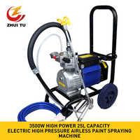 ZHUI TU Professional Hochdruck Airless Spritzen Maschine 220V 3500W High-Power Automatische Farbe Sprayer Beschichtung Maschine