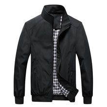 Mens Jacket Spring And Autumn Thin Coat Business Casual Korean Version Of