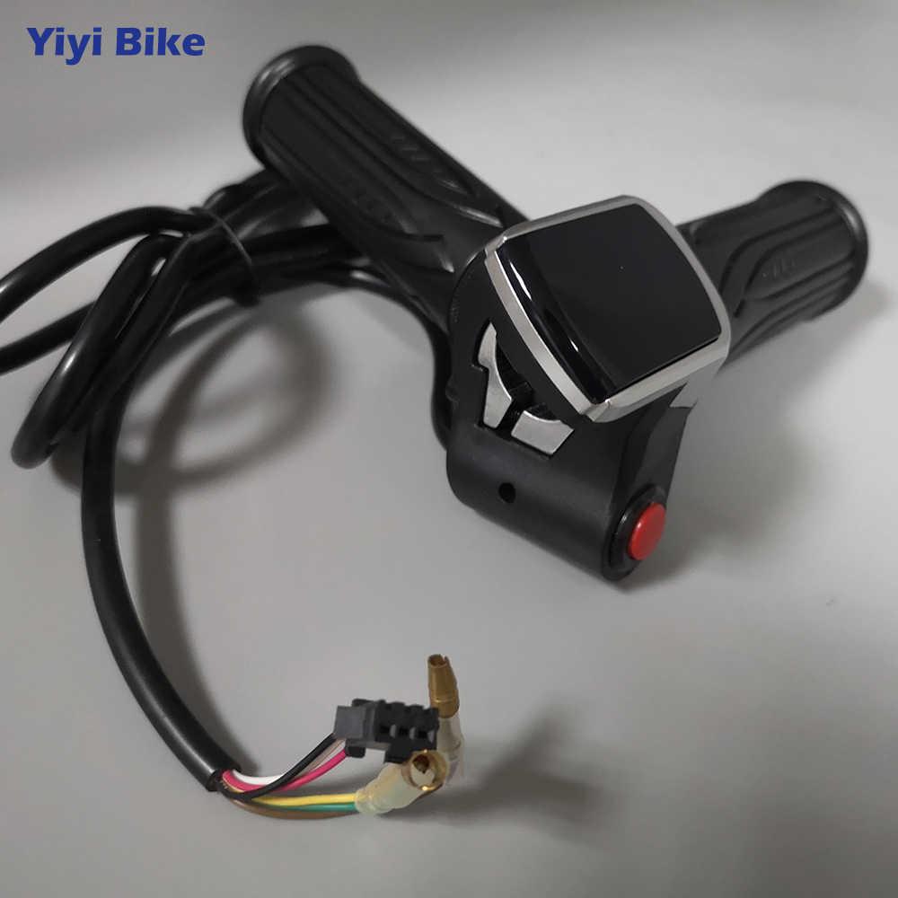 36//48V Speed Control Twist Thumb Electric Throttle For E-bike Electric Bike