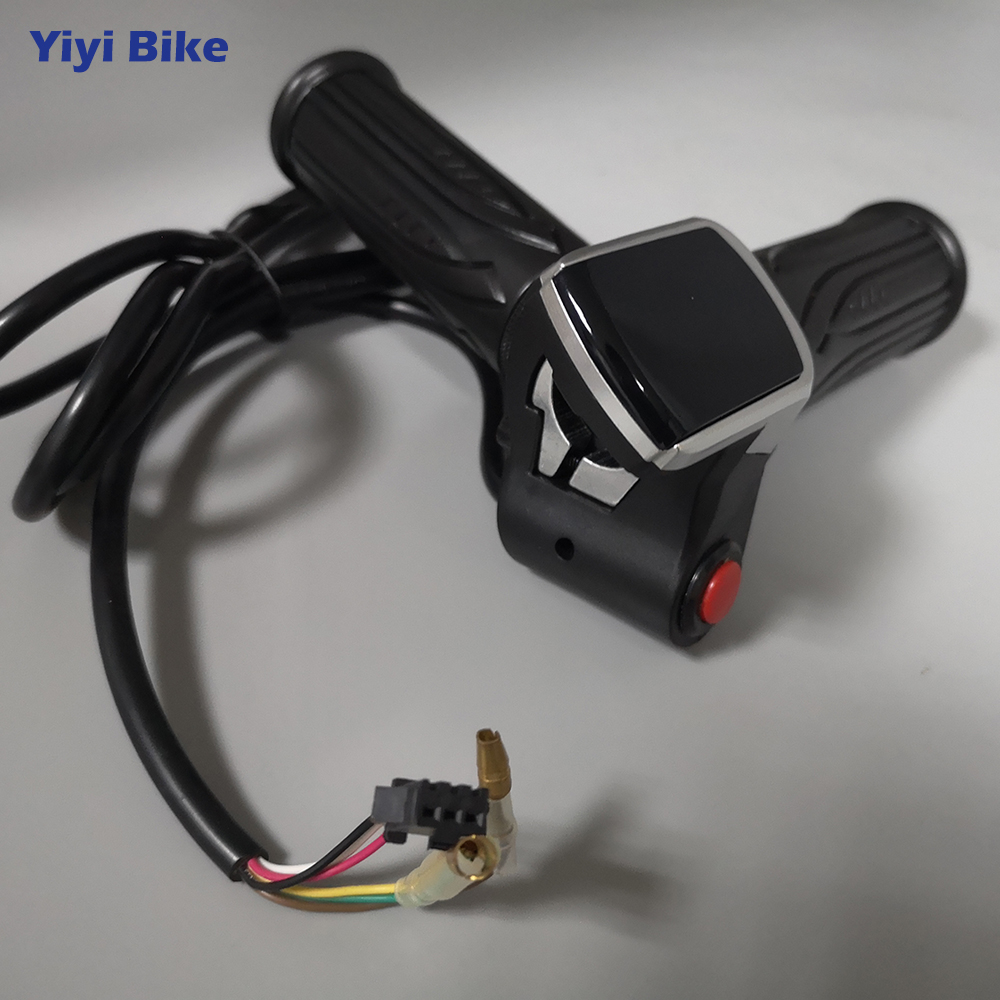 24V 36V 48V <font><b>LCD</b></font> <font><b>Display</b></font> Twist Throttle Electric Scooter <font><b>Bike</b></font> Speed <font><b>Control</b></font> With Button Switch Battery <font><b>Display</b></font> Indicator Throttle image