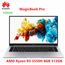 HUAWEI EHRE MagicBook Pro 2019 Laptop Notebook Computer(AMD Ryzen R5 3550H 8GB RAM/512G SSD/16.1 ''IPS 100% sRGB)(China)