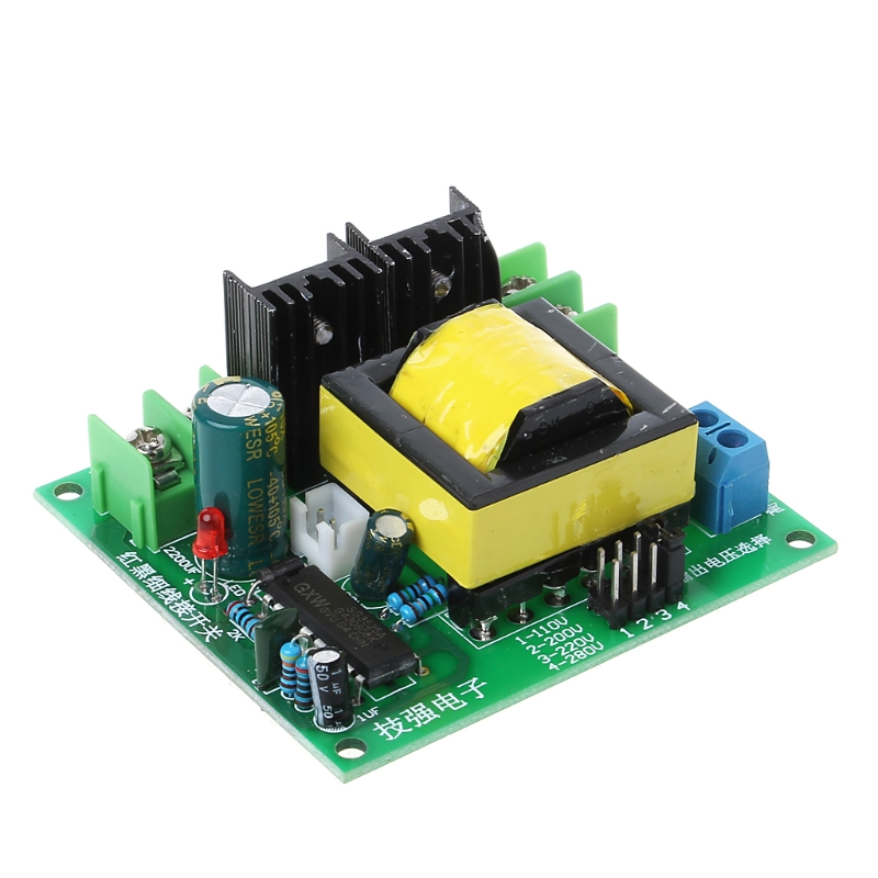 DC-AC <font><b>Converter</b></font> 12V to 110V 200V 220V 280V <font><b>150W</b></font> Inverter <font><b>Boost</b></font> Board Transformer image