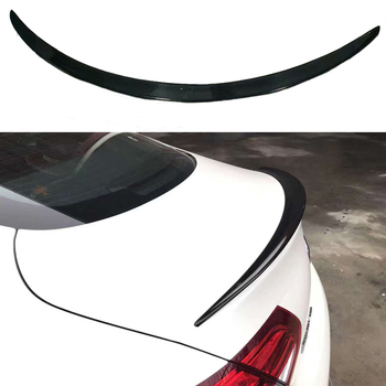 C63 Look Carbon Fiber Rear Spoiler Trunk Wing for Mercedes W205 C205 2015 + C Class C250 C300 C350 2-door Coupe