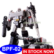 BPF ألعاب شخصيات الحركة BPF 02 BPF02 G1 G2 الموسع غالفاترون ميجا تانك OP قائد شاحنة تشوه روبوت التحول