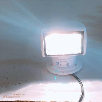 Remote Control Spotlight SUV Car Marine Searchlight 12V 100W Bulb