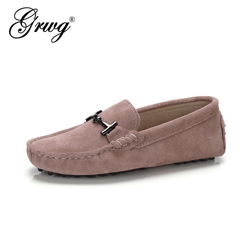 Shoes Women 2021New Brand Women Genuine Leather Flats Casual Female Moccasins Spring Summer Lady Loafers Women Driving Shoes