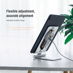 Image 3 - Nillkin Qi 15W Fast Tablet Wireless Charging for Huawei MatePad Pro 10.8 2019 Wireless Charger Stand for MatePad Pro 2019 5G