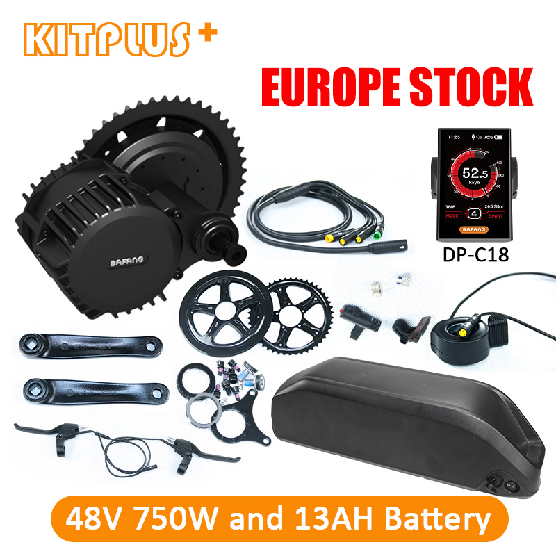 Bafang Bbs02b Mid Drive Motor Kit 48v 8fun Bafang 750w With 13ah Down Tube Battery Ebike Kit Electric Bicycle Kit With Battery Utmost In Convenience