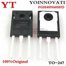 10 pièces 100% dorigine FGH40N60SFD FGH40N60 40N60 à 247