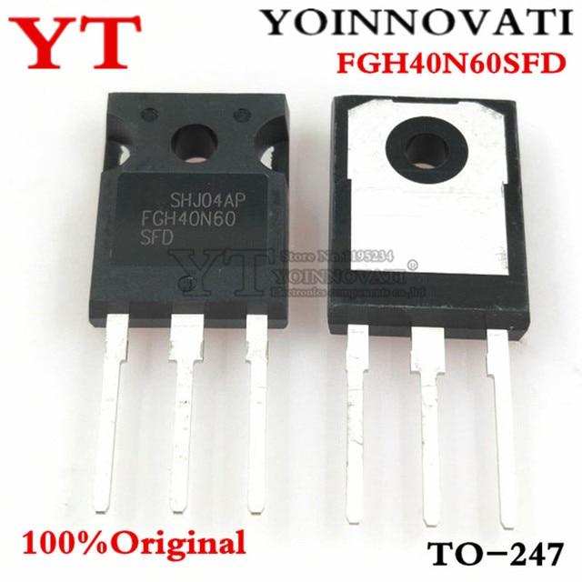 10PCS 100%Original FGH40N60SFD FGH40N60 40N60 TO 247